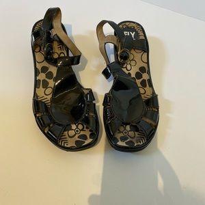 Fly London women's size 41(10) platform sandals.